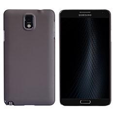 Coque Plastique Rigide Mat M02 pour Samsung Galaxy Note 3 N9000 Marron