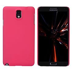 Coque Plastique Rigide Mat M02 pour Samsung Galaxy Note 3 N9000 Rouge
