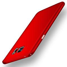 Coque Plastique Rigide Mat M02 pour Samsung Galaxy Note 5 N9200 N920 N920F Rouge