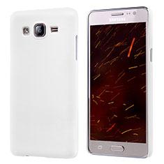 Coque Plastique Rigide Mat M02 pour Samsung Galaxy On5 G550FY Blanc