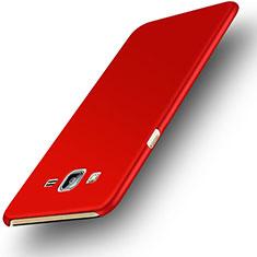 Coque Plastique Rigide Mat M02 pour Samsung Galaxy On7 Pro Rouge