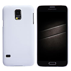 Coque Plastique Rigide Mat M02 pour Samsung Galaxy S5 Duos Plus Blanc