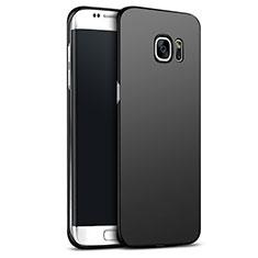 Coque Plastique Rigide Mat M02 pour Samsung Galaxy S6 Edge+ Plus SM-G928F Noir