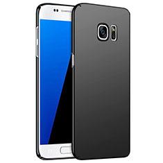 Coque Plastique Rigide Mat M02 pour Samsung Galaxy S7 G930F G930FD Noir