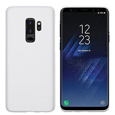 Coque Plastique Rigide Mat M02 pour Samsung Galaxy S9 Plus Blanc