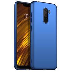 Coque Plastique Rigide Mat M02 pour Xiaomi Pocophone F1 Bleu
