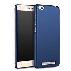 Coque Plastique Rigide Mat M02 pour Xiaomi Redmi 3 Bleu