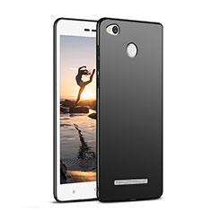 Coque Plastique Rigide Mat M02 pour Xiaomi Redmi 3 High Edition Noir