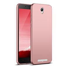 Coque Plastique Rigide Mat M02 pour Xiaomi Redmi Note 2 Or Rose