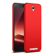 Coque Plastique Rigide Mat M02 pour Xiaomi Redmi Note 2 Rouge