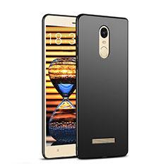 Coque Plastique Rigide Mat M02 pour Xiaomi Redmi Note 3 MediaTek Noir