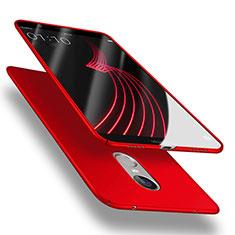 Coque Plastique Rigide Mat M03 pour Huawei Enjoy 6 Rouge
