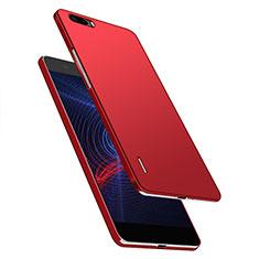 Coque Plastique Rigide Mat M03 pour Huawei Honor 6 Plus Rouge