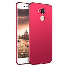 Coque Plastique Rigide Mat M03 pour Huawei Honor 6C Pro Rouge