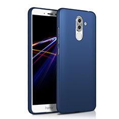 Coque Plastique Rigide Mat M03 pour Huawei Honor 6X Pro Bleu