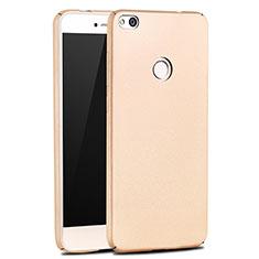 Coque Plastique Rigide Mat M03 pour Huawei Honor 8 Lite Or
