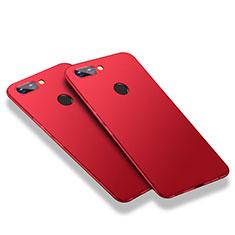 Coque Plastique Rigide Mat M03 pour Huawei Honor 9i Rouge