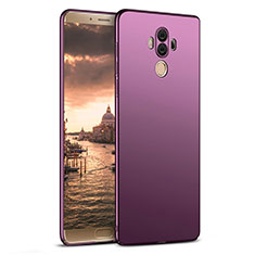 Coque Plastique Rigide Mat M03 pour Huawei Mate 10 Pro Violet