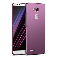Coque Plastique Rigide Mat M03 pour Huawei Mate 7 Violet