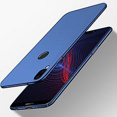 Coque Plastique Rigide Mat M03 pour Huawei P20 Lite Bleu