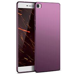 Coque Plastique Rigide Mat M03 pour Huawei P8 Lite Violet