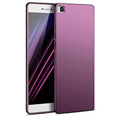 Coque Plastique Rigide Mat M03 pour Huawei P8 Violet