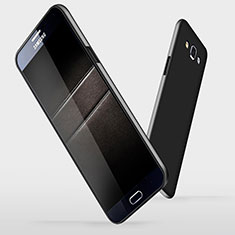 Coque Plastique Rigide Mat M03 pour Samsung Galaxy A7 Duos SM-A700F A700FD Noir