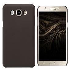 Coque Plastique Rigide Mat M03 pour Samsung Galaxy J7 (2016) J710F J710FN Marron