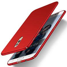 Coque Plastique Rigide Mat M03 pour Samsung Galaxy J7 Plus Rouge