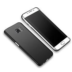 Coque Plastique Rigide Mat M03 pour Samsung Galaxy S6 Edge+ Plus SM-G928F Noir
