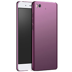 Coque Plastique Rigide Mat M03 pour Xiaomi Mi 5S 4G Violet