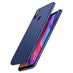 Coque Plastique Rigide Mat M03 pour Xiaomi Mi 8 Bleu