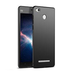 Coque Plastique Rigide Mat M03 pour Xiaomi Redmi 3 High Edition Noir