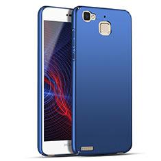Coque Plastique Rigide Mat M04 pour Huawei G8 Mini Bleu