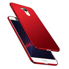 Coque Plastique Rigide Mat M04 pour Huawei Honor 6C Pro Rouge