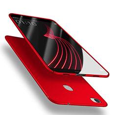 Coque Plastique Rigide Mat M04 pour Huawei Honor Note 8 Rouge