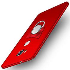 Coque Plastique Rigide Mat M04 pour Huawei Honor Play 5X Rouge