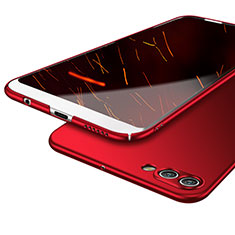 Coque Plastique Rigide Mat M04 pour Huawei Nova 2S Rouge