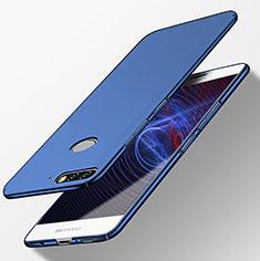 Coque Plastique Rigide Mat M04 pour Huawei Y7 (2018) Bleu