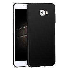 Coque Plastique Rigide Mat M04 pour Samsung Galaxy C7 Pro C7010 Noir