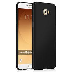 Coque Plastique Rigide Mat M04 pour Samsung Galaxy C9 Pro C9000 Noir