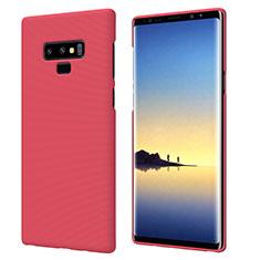 Coque Plastique Rigide Mat M04 pour Samsung Galaxy Note 9 Rouge
