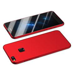Coque Plastique Rigide Mat M05 pour Huawei GR3 (2017) Rouge
