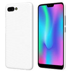 Coque Plastique Rigide Mat M05 pour Huawei Honor 10 Blanc