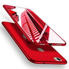 Coque Plastique Rigide Mat M05 pour Huawei Honor Note 8 Rouge