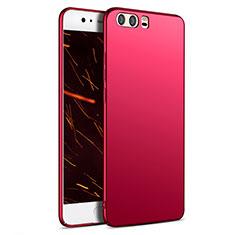 Coque Plastique Rigide Mat M05 pour Huawei P10 Plus Rouge