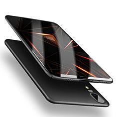 Coque Plastique Rigide Mat M05 pour Huawei P20 Noir
