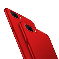 Coque Plastique Rigide Mat M05 pour OnePlus 5 Rouge