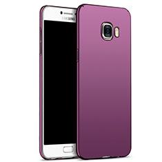 Coque Plastique Rigide Mat M05 pour Samsung Galaxy C7 SM-C7000 Violet