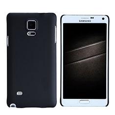 Coque Plastique Rigide Mat M05 pour Samsung Galaxy Note 4 SM-N910F Noir